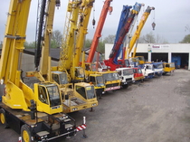 Piaţa de vânzare IMC International Mobile Cranes GmbH