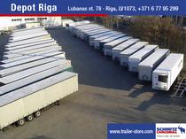 Piaţa de vânzare Schmitz Cargobull Latvija SIA