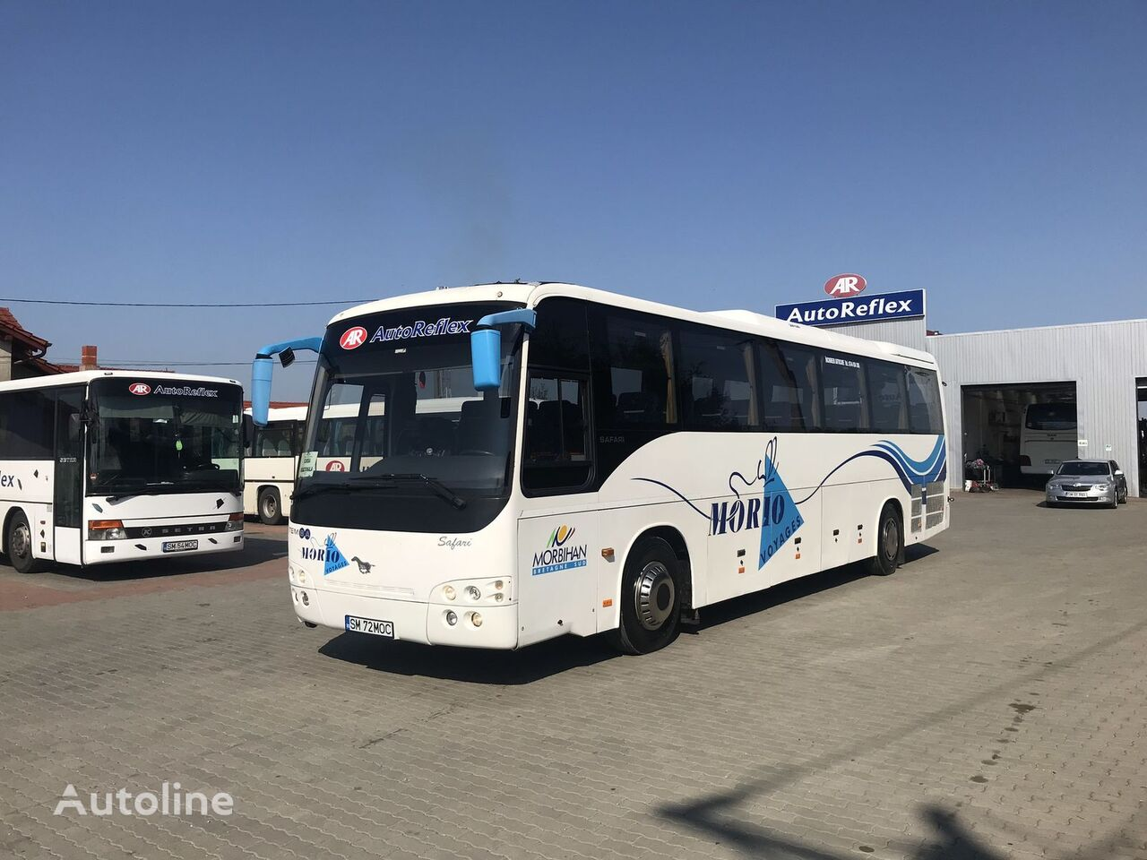 autobuz interurban TEMSA Safari