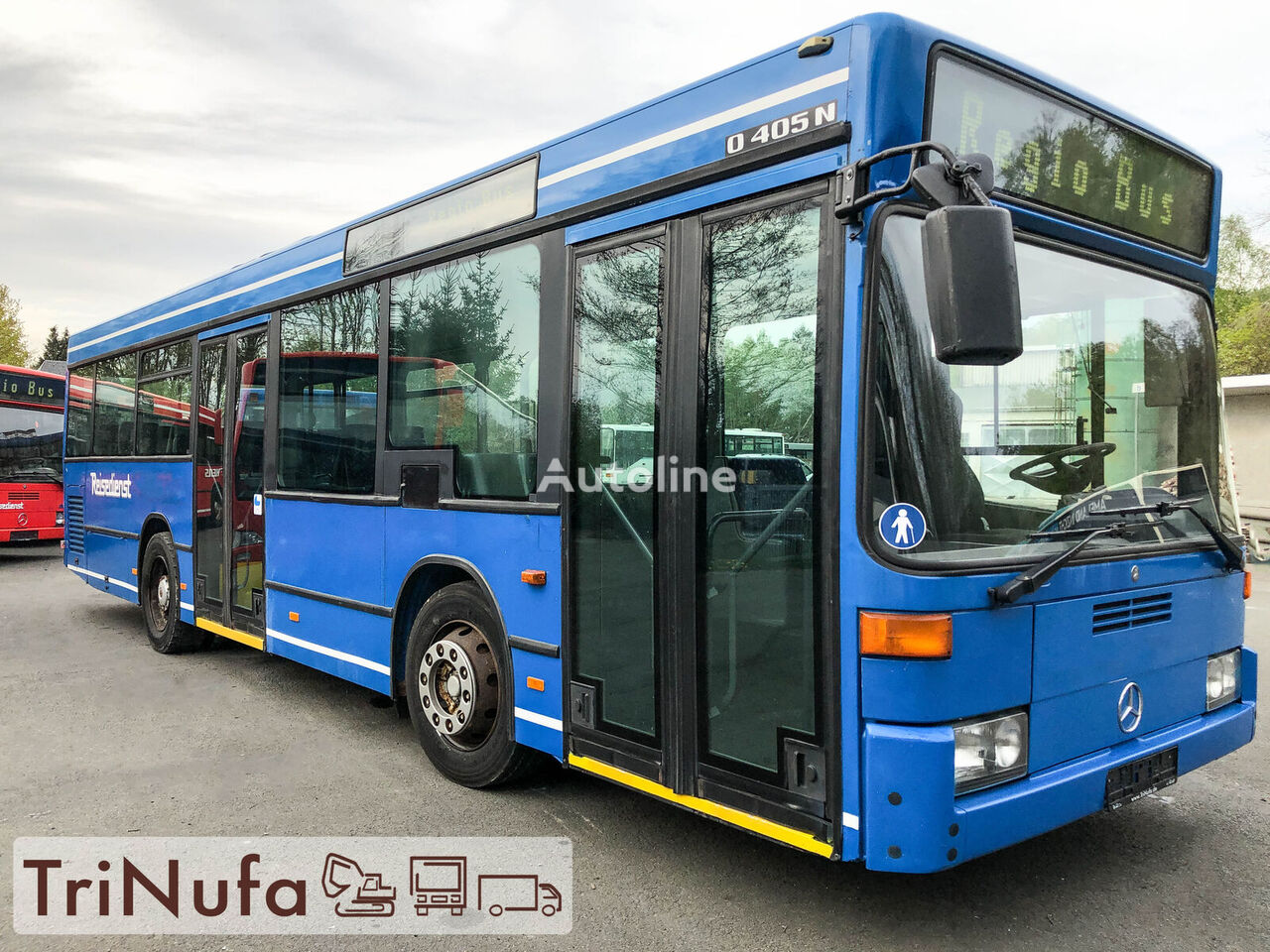 autobuz urban MERCEDES-BENZ O 405 N K | Länge: 10,5 m | Klima |