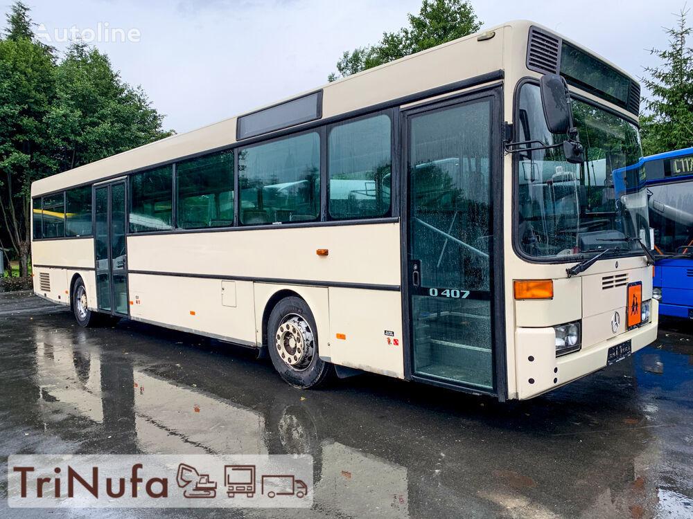autobuz urban MERCEDES-BENZ O 407, 408 | Schaltgetriebe |