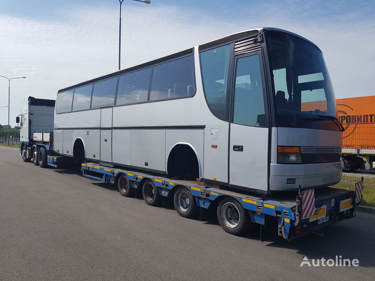 autocar SETRA în bucăți
