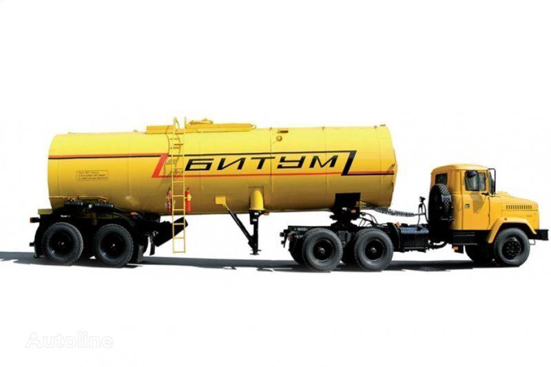 KRAZ Avtobitumovozy 63431 AB-22 i 6443 AB-30,5  autotractor + cisternă semiremorcă