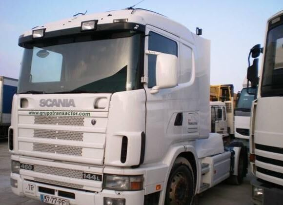 SCANIA L 144L460 autotractor