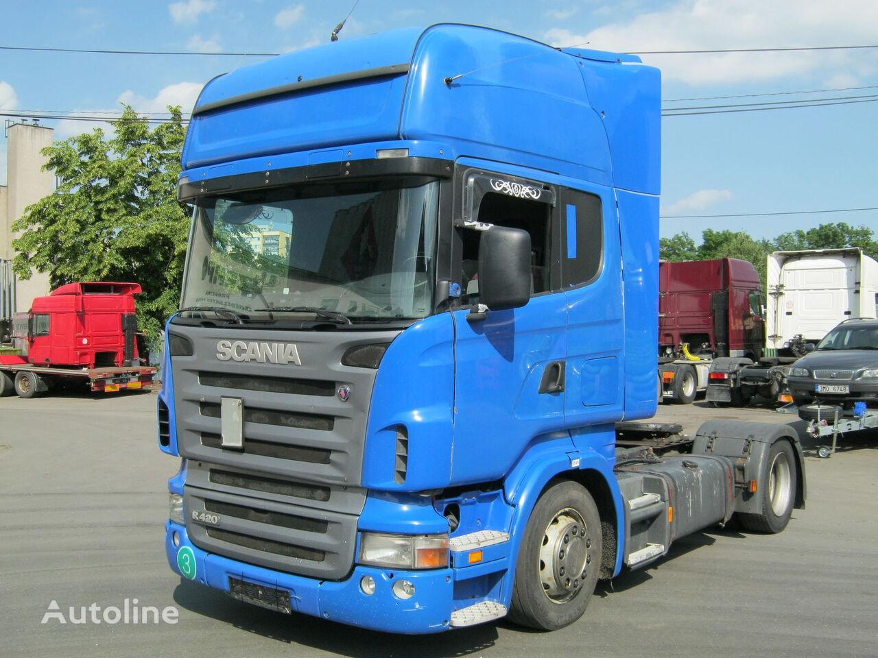 autotractor SCANIA R 420 euro 3