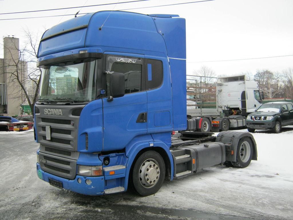 SCANIA R 420 euro 3 autotractor