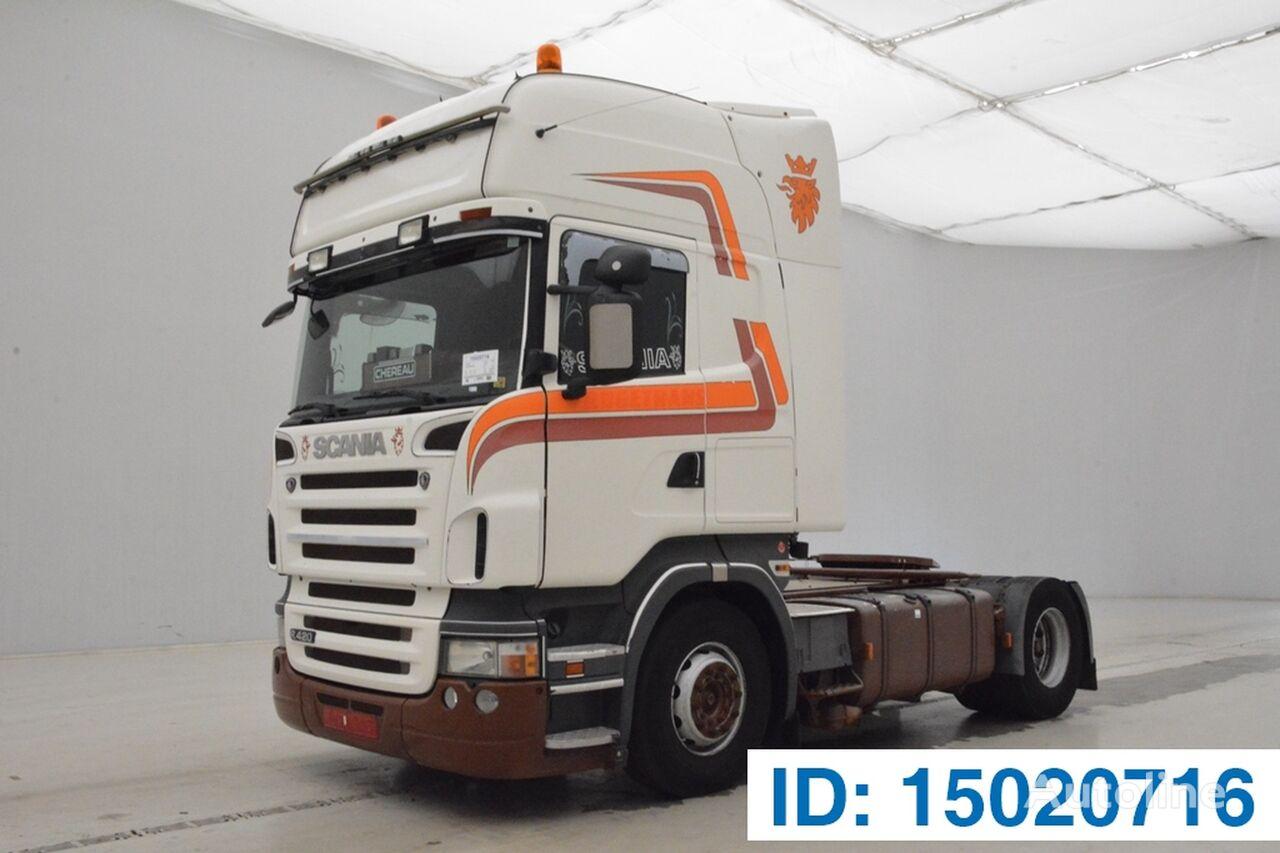 SCANIA R420 TOPLINE autotractor