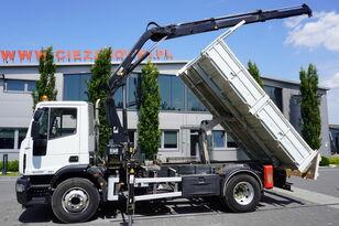 autobasculantă IVECO Eurocargo 160E25 , EEV , 4X2 , tipper + Crane , Remote Control
