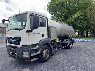 camion autocisterna MAN TGS 18.360 - citerne en inox isotherme-2 compartiments