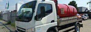 camion autocisterna MITSUBISHI CANTER 7C15