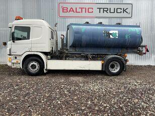 camion autocisterna SCANIA P94-300, 4x2 HOOKLIFT + WATER TANK
