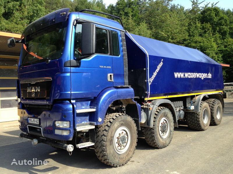 MAN TGS 41.480  camion autocisterna