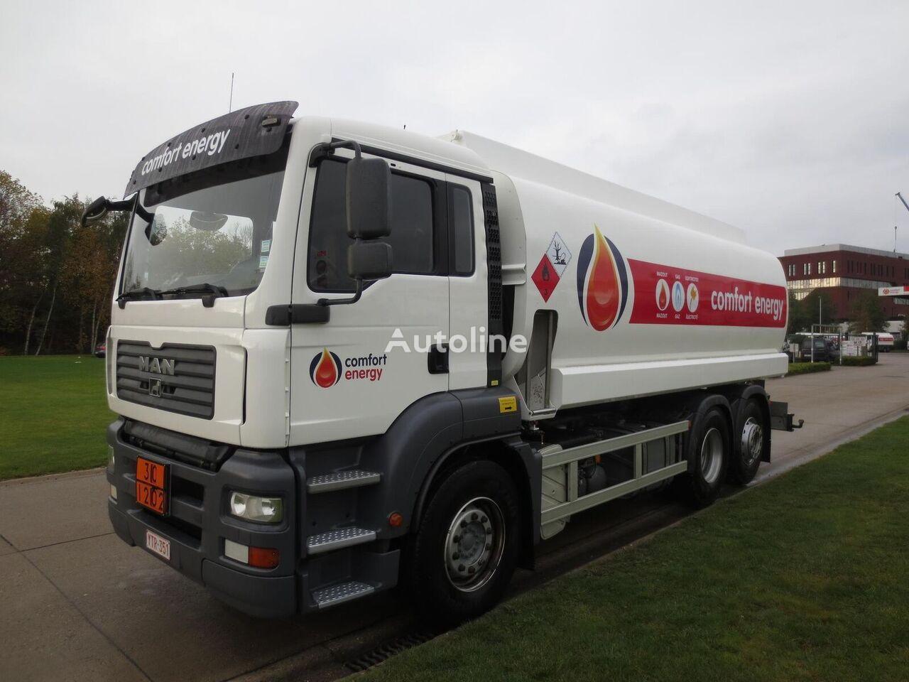 camion cisternă combustibil MAN