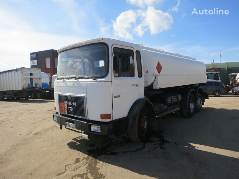 MAN 22.192 camion cisternă combustibil