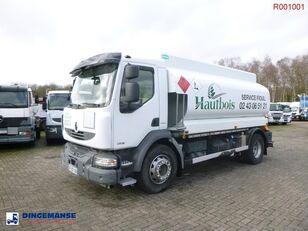 camion cisternă combustibil RENAULT Midlum 280 dxi 4x2 fuel tank 13.5 m3 / 4 comp