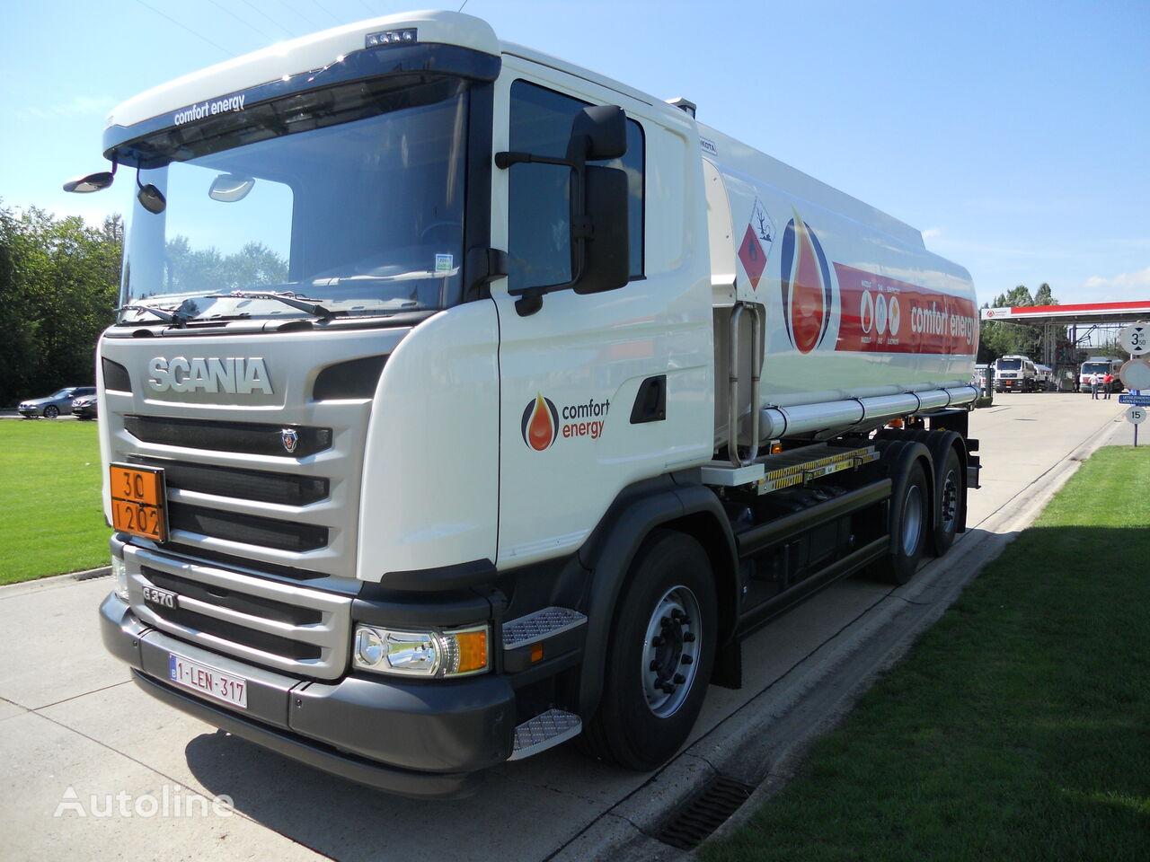 SCANIA camion cisternă combustibil