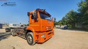 camion cu cârlig MULTILIFT Камаз 658667