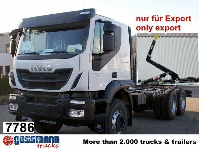 camion cu cârlig IVECO Trakker / AD260T45 / Autom./Klima nou