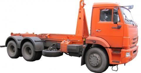 KAMAZ KO-452-13  camion cu cârlig