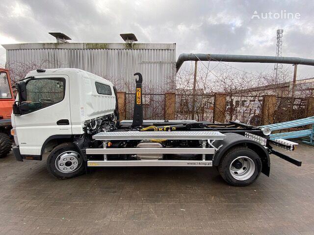 camion cu cârlig Mitsubishi Fuso 9C18 AMT + KING HZ7R nou