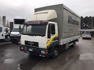 camion cu prelata MAN 11.224 new motor