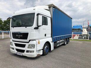 camion cu prelata MAN TGX 24.440 flatbed