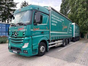 camion cu prelata MERCEDES-BENZ 2545 L 6X2 ACTROS / EURO 6