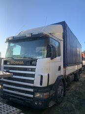camion cu prelata SCANIA 124L 360 Gearbox GRS900 3+3