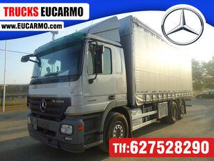 camion cu prelata culisanta MERCEDES-BENZ ACTROS 25 36