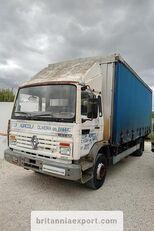 camion cu prelata culisanta RENAULT Midliner M140.13 left hand drive 6 cylinder 13 ton full springs