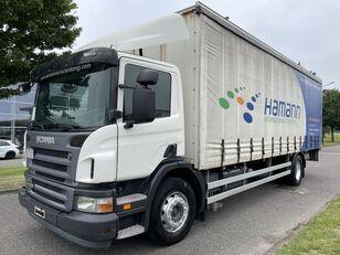 camion cu prelata culisanta SCANIA P230 P 230 + EURO 4 + LIFT + 8.20 METER BOX