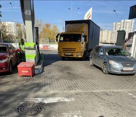 camion cu prelata culisanta KAMAZ 4308 + remorcă cu prelată cortina