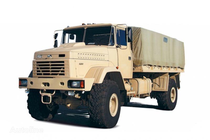 KRAZ 5233VE camion cu prelata