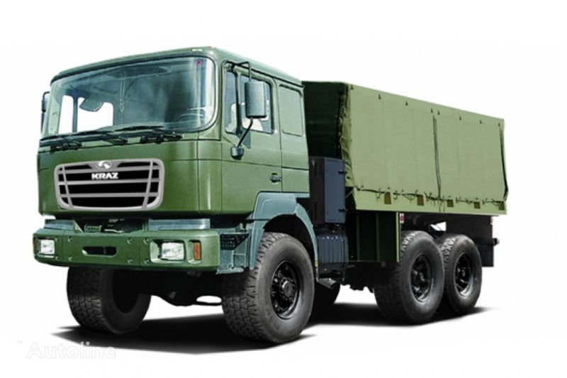 KRAZ V12.2MEH camion cu prelata