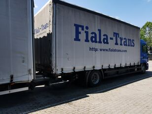 camion cu prelata MAN + remorcă prelate