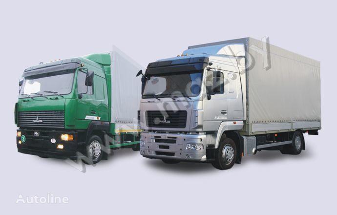 MAZ 5340 (19, E9) camion cu prelata
