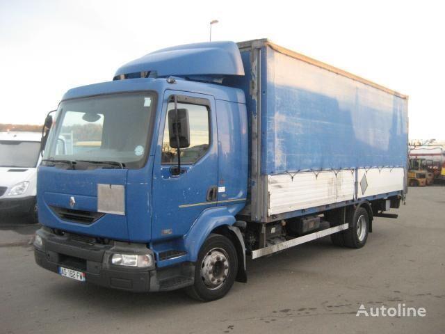 RENAULT Midlum 180 camion cu prelata