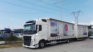camion cu prelata VOLVO fh 420 EURO 6 + remorcă prelate