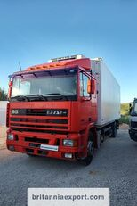 camion frigorific DAF 95 360 ATI left hand drive ZF manual pump 19 ton
