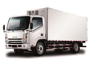 camion frigorific JAC Изотермический фургон с ХОУ JAC N 80 nou