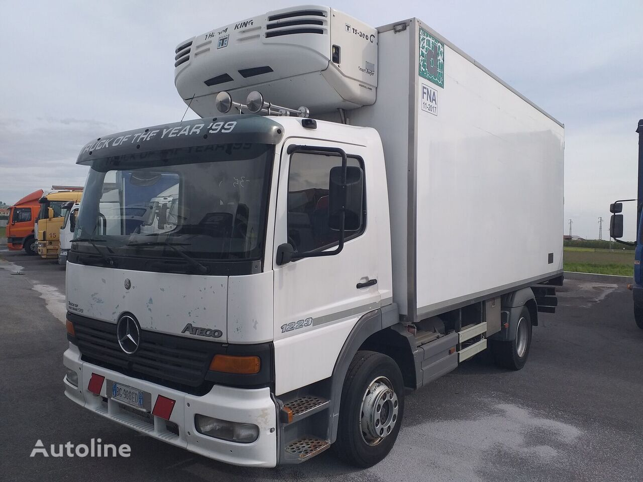 camion frigorific MERCEDES-BENZ ATEGO 12.23