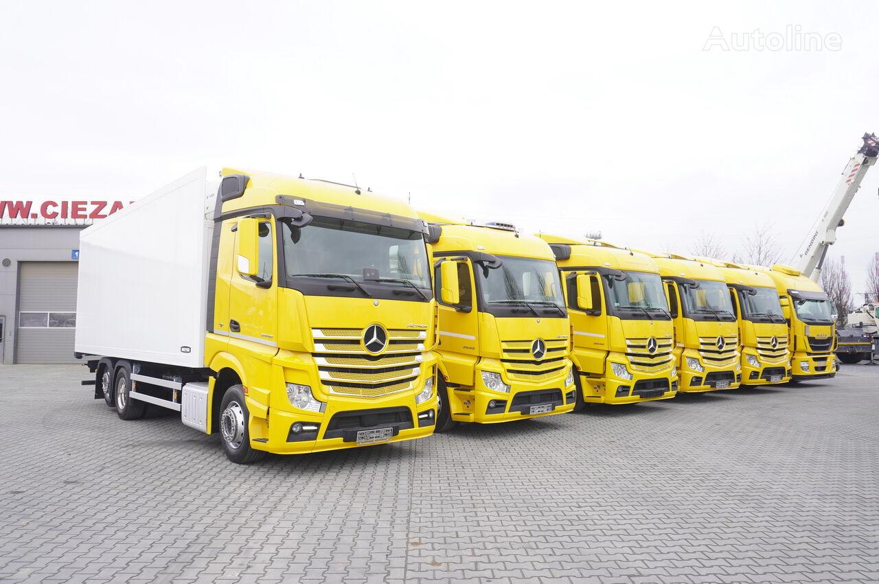 camion frigorific MERCEDES-BENZ Actros 2542 , 2543 , 2545 , 18-22 EPAL , 20 Refrigerator trucks