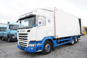 camion frigorific SCANIA G490, Meat hooks , 19 EPAL