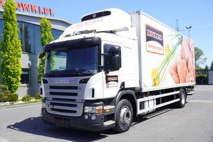 camion frigorific SCANIA P280 , E5 , 18 EPAL , Meat HOOKS , tail lift , retarder , sleep