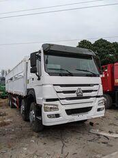 camion furgon HOWO 336 HP 8x4 Drive Stake Body General Cargo Truck