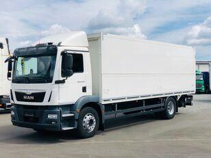 camion furgon MAN TGM 18.290 Italszállító Emelőhátfallal