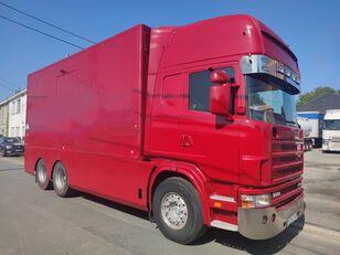 camion furgon SCANIA 144 G  460  V8   6x2  ///MANUEL//RETARDER///FRENCH TRUCK///