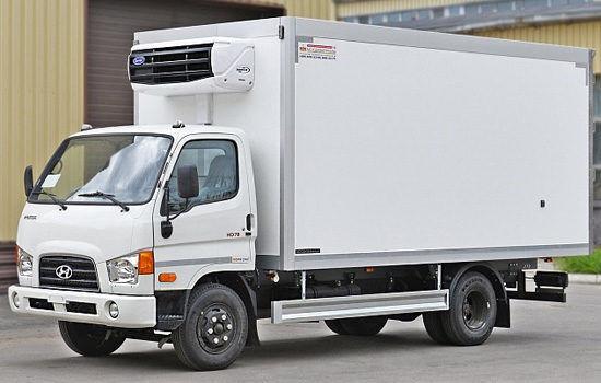 camion furgon HYUNDAI HD78 nou