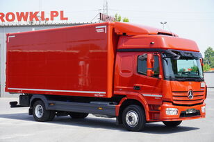 camion furgon MERCEDES-BENZ Atego 1224, E6, 4x2, 6.10m container, GLOB cabin, retarder