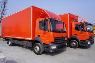camion furgon MERCEDES-BENZ Atego 1224, E6, 4x2, 7.10 m container, retarder, 3-person cabin